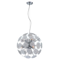 Lite Source Severino 6 Light Pendant with Glass Shade LS-19800