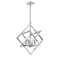 Signature 4 Light 18 inch Chrome Pendant Ceiling Light