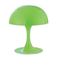 Lite Source Cutie 1 Light Table Lamp with Green Metal Shade LS-21095GRN