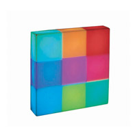 Lite Source Rubik LED Table Lamp in Multi-Color LS-21680