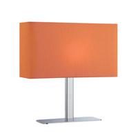 Lite Source LS-21797C/ORN Levon 15 inch 40 watt Chrome Table Lamp Portable Light