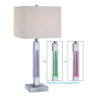 Fidelio 27 inch 23 watt Chrome Table Lamp Portable Light