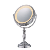 Lite Source Vogue LED Mirror Table Lamp in Chrome LS-21950C