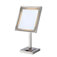Lite Source Vogue II LED Mirror Table Lamp in Polished Steel LS-21951PS