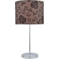 Lite Source LS-21997 Glora 23 inch 13 watt Chrome Table Lamp Portable Light