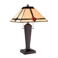 Karysa 26 inch 13 watt Dark Bronze Table Lamp Portable Light