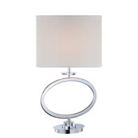 Renia 29 inch 150 watt Chrome Table Lamp Portable Light