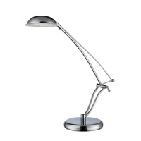 Lite Source Eladio LED Desk Lamp in Chrome LS-22200C