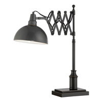 Lite Source Armstrong 1 Light CFL Desk Lamp in Dark Bronze with Metal LS-22280
