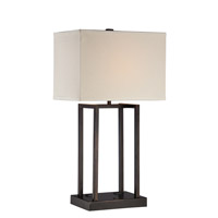 Lite Source Elenore 1 Light Table Lamp in Dark Bronze LS-22357