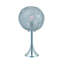 Lite Source Kolina 1 Light Table Lamp in Chrome LS-22374