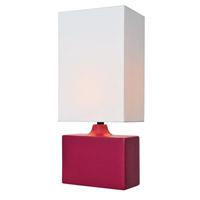 Lite Source Kara 1 Light Table Lamp in Rose LS-22378ROSE