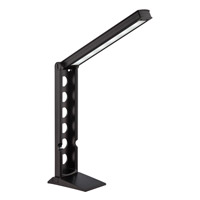 Galtem 22 inch 6 watt Black Desk Lamp Portable Light