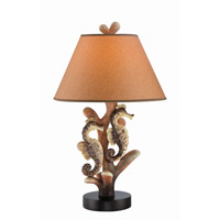 Seahorse 27 inch 23 watt Table Lamp Portable Light