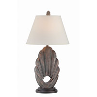 Lite Source LS-22418 Neolani 29 inch 23 watt Dark Walnut Table Lamp Portable Light
