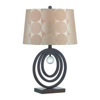 Galia 25 inch 23 watt Dark Bronze Table Lamp Portable Light