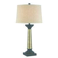 Lite Source Peyton 1 Light Table Lamp in Dark Bronze LS-22492