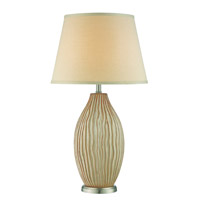 Lite Source Valene 1 Light Table Lamp in Latte Ceramic LS-22495