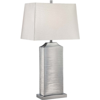 Adora 31 inch 23 watt Chrome Table Lamp Portable Light