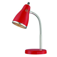 Lite Source Kris 1 Light Desk Lamp in Chrome LS-22535RED