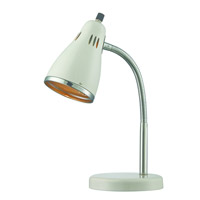 Kris 15 inch 13 watt Chrome Table Lamp Portable Light