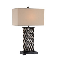 Lite Source LS-22660 Sadler 30 inch 150 watt Aged Silver Table Lamp Portable Light