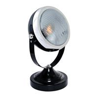 Lite Source LS-22737BLK Headlite 11 inch 43 watt Black Table Lamp Portable Light