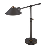 Najinca 29 inch 13 watt Dark Bronze Desk Lamp Portable Light