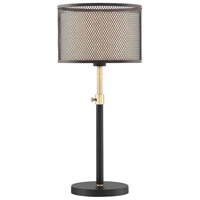 Lite Source LS-23100 Elena 28 inch 60 watt Coffee and Gold Table Lamp Portable Light