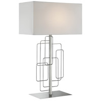 Lite Source LS-23153 Fayth 29 inch 100 watt Brushed Nickel Table Lamp Portable Light
