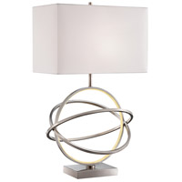 Lite Source LS-23167 Orville 31 inch 100 watt Brushed Nickel Table Lamp Portable Light