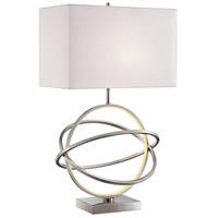 Lite Source LS-23167 Orville 31 inch 100 watt Brushed Nickel Table Lamp Portable Light