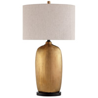Lite Source LS-23197 Mateo 31 inch 150 watt Metallic Glazed Ceramic Table Lamp Portable Light