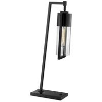 Lite Source LS-23264BLK Norman 27 inch 60 watt Black Table Lamp Portable Light