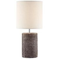 Lite Source LS-23315D/BRN Dustin 18 inch 60 watt Table Lamp Portable Light