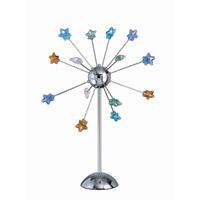 Lite Source LS-2614C/MULTI Starstruck 33 inch 10 watt Chrome Table Lamp Portable Light