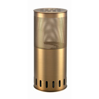 Lite Source Flame 1 Light Table Lamp in Bronze LS-297BRZ