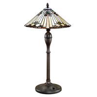 Lite Source Moonstruck 2 Light Table Lamp in Antique Bronze LS-3212