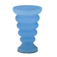 Lite Source Rising Tide 1 Light Table Lamp in Cobalt and Blue LS-3509BLU