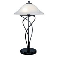 Lite Source LS-3640BLK Majesty 29 inch 13 watt Black Table Lamp Portable Light