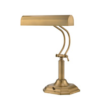 Lite Source LS-398AB Piano Mate 20 inch 40 watt Antique Brass Table Lamp Portable Light