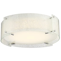 Lite Source LS-5419DIAMOND Kaelin 1 Light 17 inch Chrome Flush Mount Ceiling Light