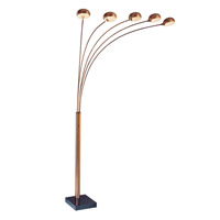 Lite Source Multi-lite 5 Light Arch Lamp in Bronze LS-9485M/BRZ