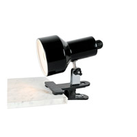 Lite Source Clip-on 1 Light Clamp-on Lamp in Black LSF-114BLK