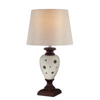 Lite Source LSF-22022 Piri 24 inch 25 watt Ceramic Table Lamp Portable Light