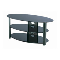 Lite Source LSH-5602 Cwik 50 inch Black TV Stand