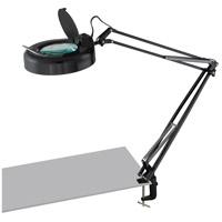 Lite Source LSM-180LED/BLK Magnify-Lite 41 inch 9.4 watt Black Magnifying Lamp Portable Light