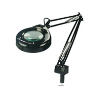 Lite Source Magnify-lite 1 Light Magnifying Lamp in Black LSM-181BLK
