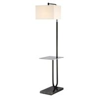 Lite Source LS-83115 Doreen 62 inch 100 watt Matte Black Floor Lamp Portable Light