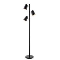 Lite Source LS-83120BLK Ronnie 65 inch 40 watt Black Floor Lamp Portable Light